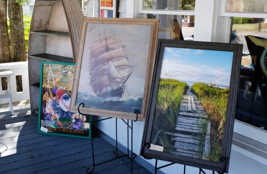 Ricky Evans Gallery Art on the Porch