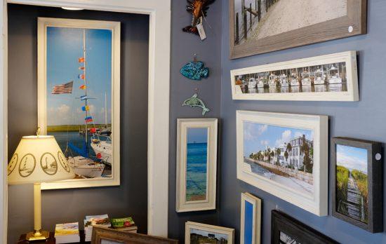 Ricky Evans Gallery Inside
