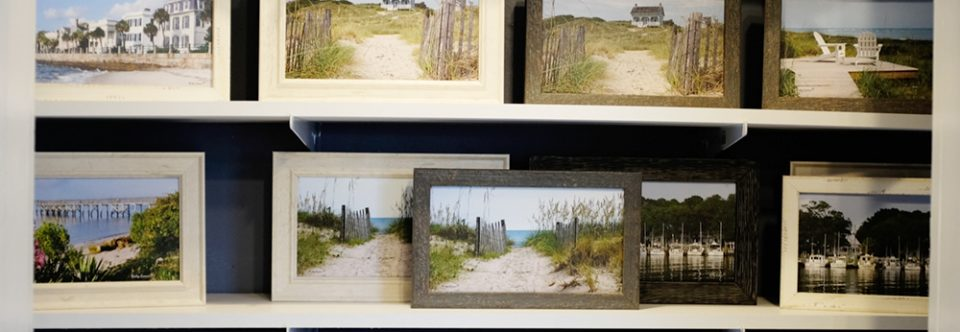 Small framed art pieces
