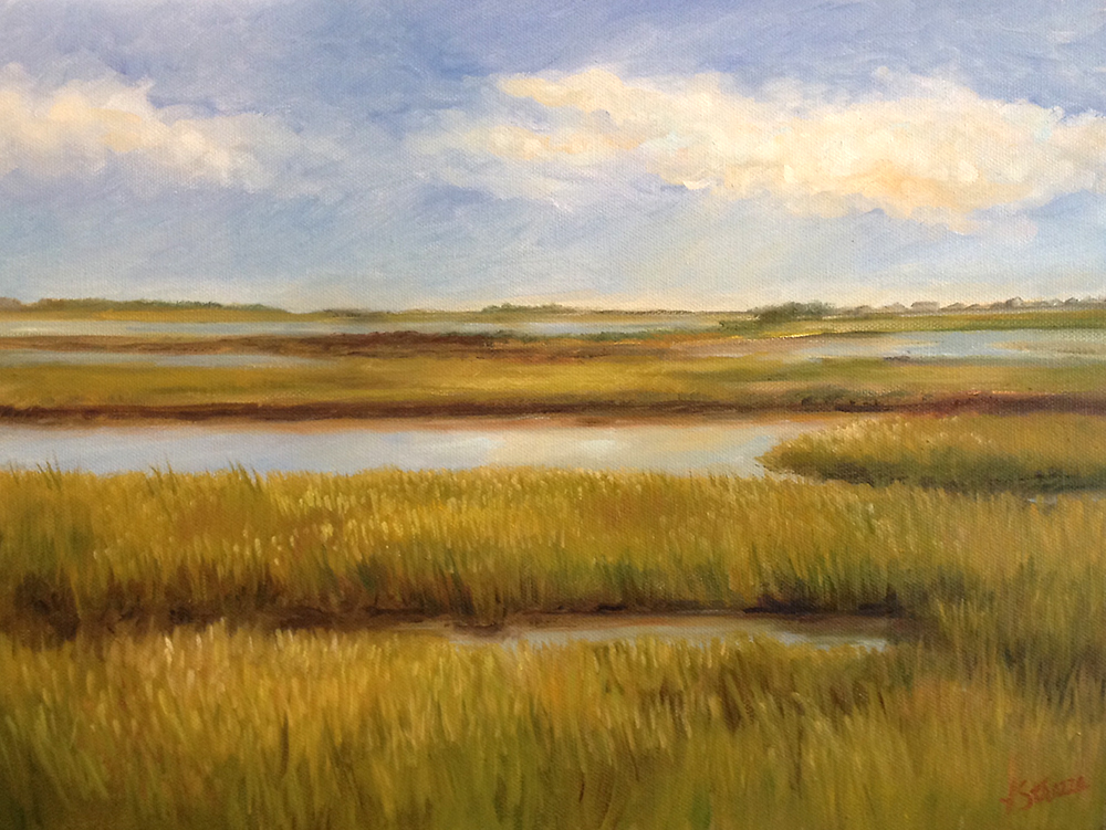 Carolina Sunshine - Oil painting by Lisa Strazza