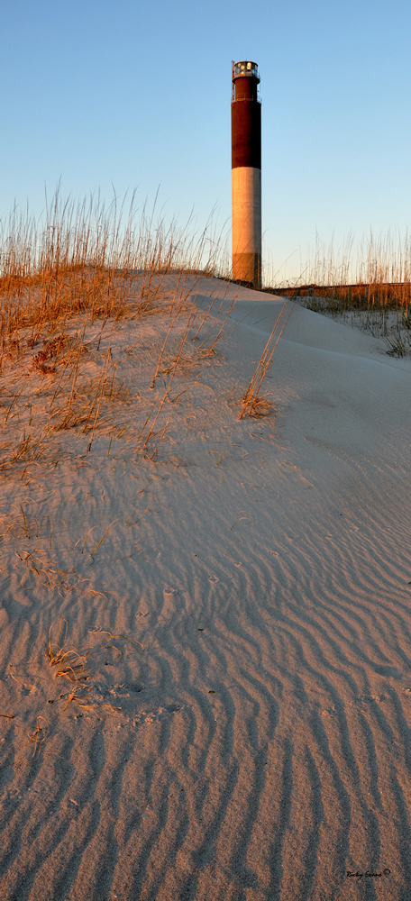 Oak Island Light by Ricky Evans