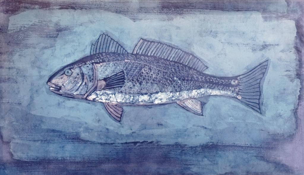 Lisa Strazza Fish Batik