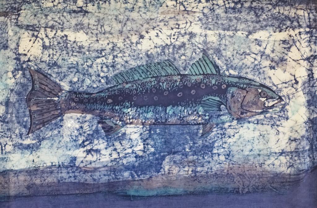 Lisa Strazza Fish Batik 2