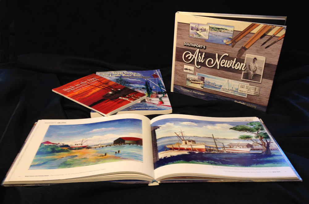 Thomas Harrelson Book - Paintings of Southport NC