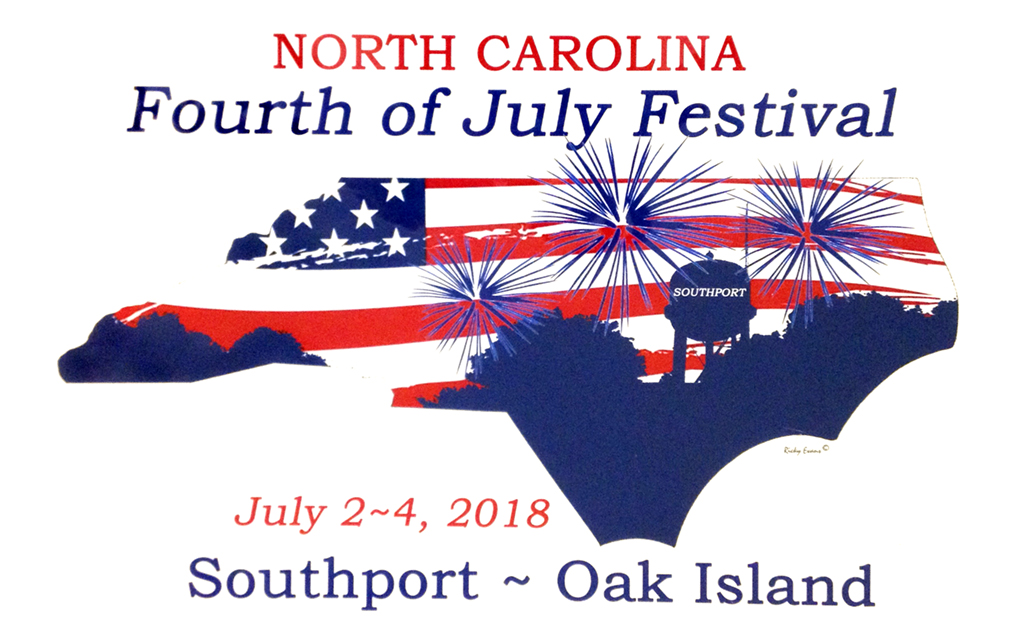 July 4-2018 at Ricky Evans Gallery - Southport, NC