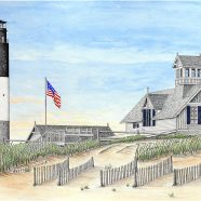Oak Island Lifesaving Station