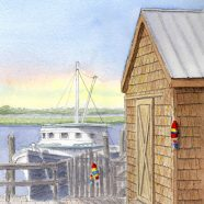 Potters Boat Shed