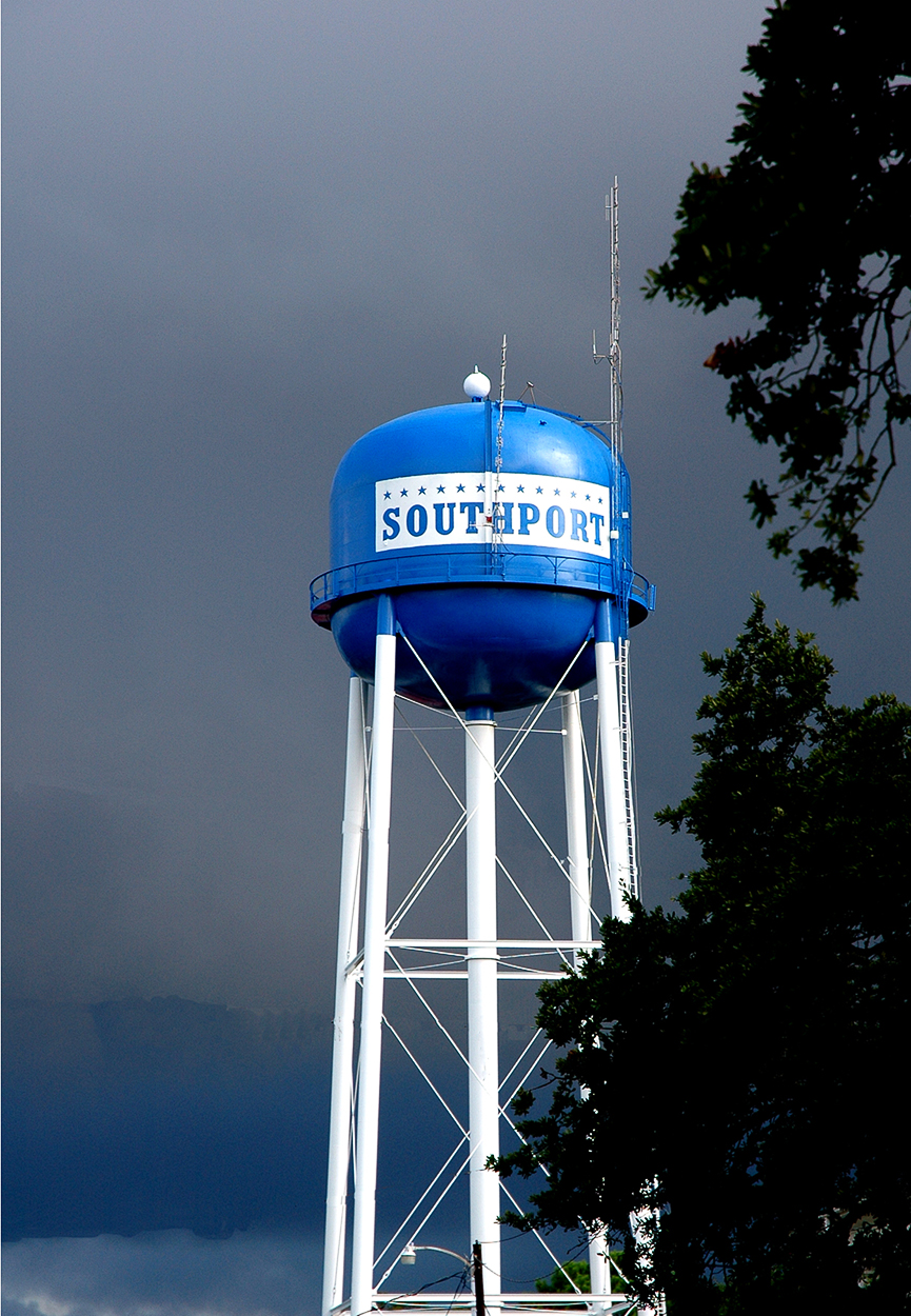 Southport Water Tower Photograph by Ricky Evans