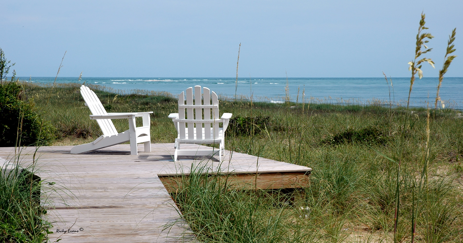 Bald Head Beach Chairs - Photo by Ricky Evans