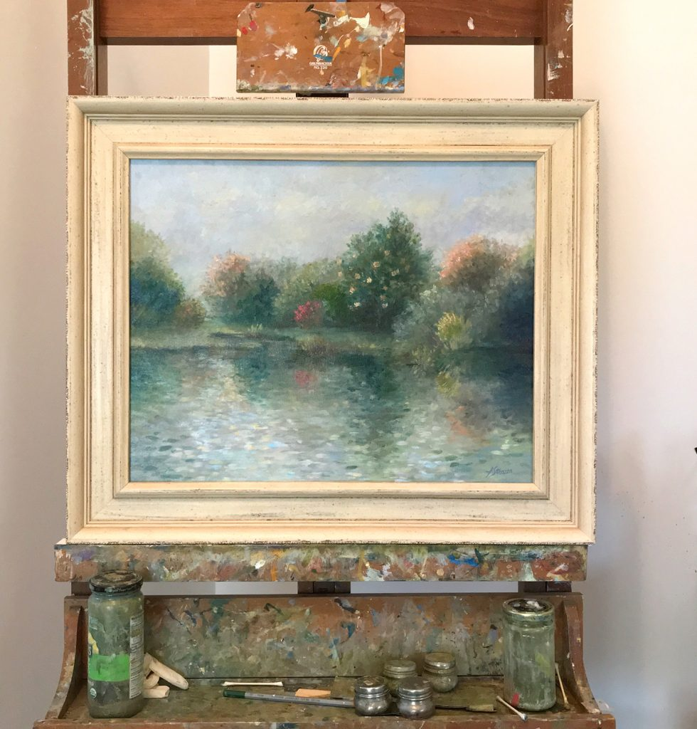 Lisa Strazza Exhibit of Southern Impressionism at Ricky Evans Gallery