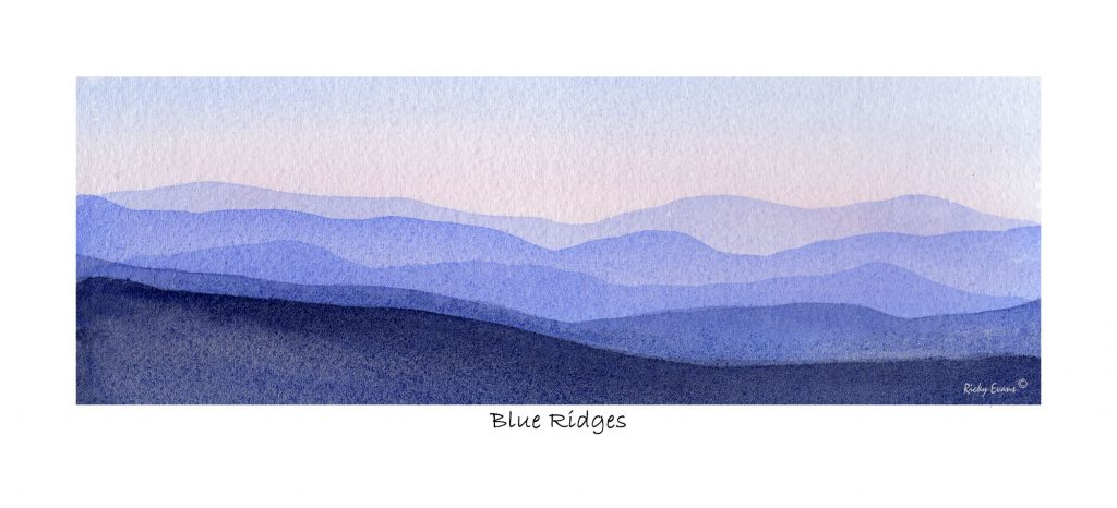 Blue Ridges by Ricky Evans
