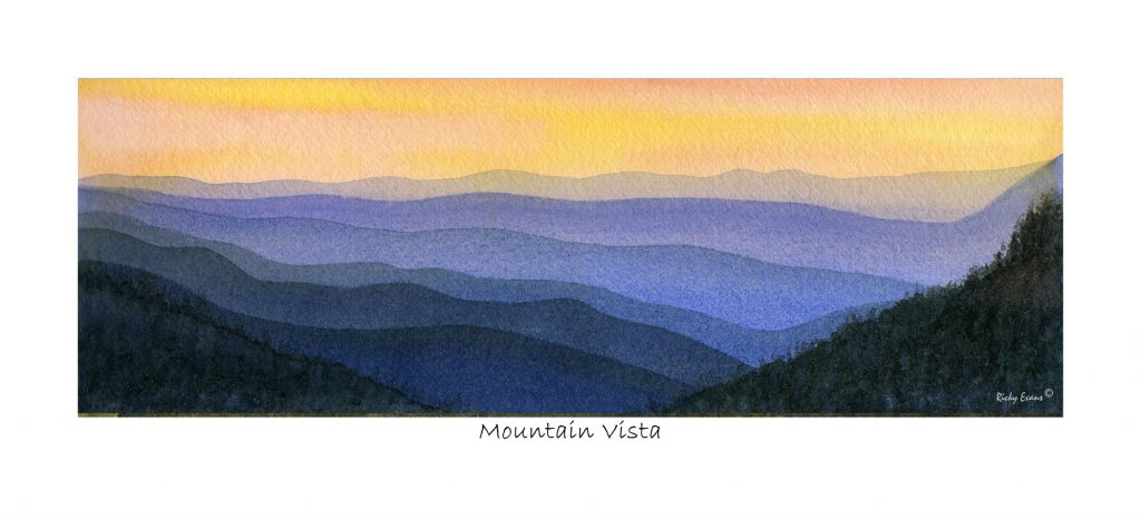 Mountain Vista by Ricky Evans