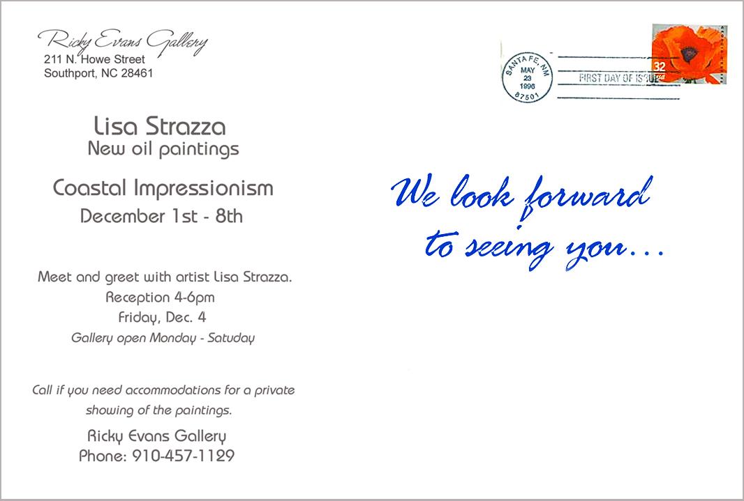 Strazza Coastal Impressionism show